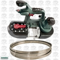 Metabo MBS18LTX25-X1 Band Saw 5.2ah Battery & Charger OB