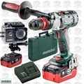 Metabo SB 18 LTX-3 BL Q I 3sp Impact Drill Driver w/ 2x 5.5Ah Batts + Action Cam