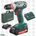 """Metabo US602217620 18V Quick 3/8"""" Drill/Driver 2.0Ah Batts + Charger"""