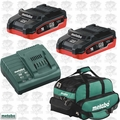 Metabo US625343002 3.1Ah Cordless Battery + Charger STARTER Kit