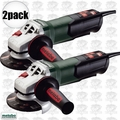 "Metabo WP9-115 Quick 2pk 4-1/2"" 8 AMP Angle Grinder w/ Non-Locking Paddle"
