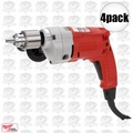 "Milwaukee 0234-6 4pk 1/2"" Magnum Drill, 0-950 RPM"