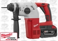 "Milwaukee 0756-22 M28 Compact 1"" SDS Rotary Hammer Kit SDS & SDS-Plus Shank"