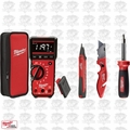 Milwaukee 2220-20 4pc Electrical Test and Measurement Combo Kit OB