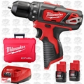 "Milwaukee 2407-22 12 Volt M12 3/8"" Drill/Driver Kit"