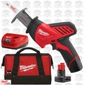 Milwaukee 2420-21 12 V Hackzall M12 Reciprocating Saw 2 Batteries 1x 6Ah