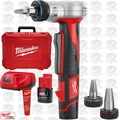 Milwaukee 2432-22 12 Volt Cordless M12 ProPEX Expansion Tool Kit