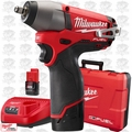 "Milwaukee 2454-22 M12 FUEL 3/8"" Impact Wrench Kit"