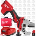 Milwaukee 2470-21 M12 Cordless PVC Shear 2 Battery Kit w/1x 6.0ah