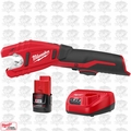 Milwaukee 2471-20-B3 M12 12V Copper Tubing Cutter w/ 2.0Ah Battery + Charger
