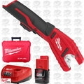 Milwaukee 2471-21 M12 Copper Tubing Cutter with 1 Battery Lithium-Ion