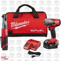 "Milwaukee 2591-22 M18/M12 Fuel Auto Kit - 3/8"" Ratchet / 1/2"" Mid Torq"