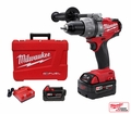 "Milwaukee 2604-22 18 Volt M18 FUEL 1/2"" Hammer-Drill/Driver Lithium-Ion (x2)"