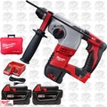 "Milwaukee 2605-22 18 Volt M18 7/8"" SDS Plus Rotary Hammer Kit"