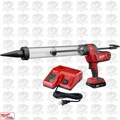 Milwaukee 2643-21CT M18 Cordless 20oz Sausage Style Caulk Adhesive Gun Kit