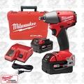 "Milwaukee 2655B-22 M18 FUEL 1/2"" Impact Wrench Kit Ball-Pin XC4.0's"