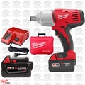 "Milwaukee 2664-22 18 Volt 3/4"" Square Drive Impact Wrench w\ Hog Ring"