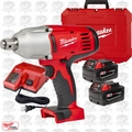 """Milwaukee 2664-22 18 Volt 3/4"""" Square Drive Impact Wrench w\ Hog Ring"""