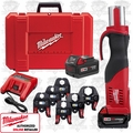 "Milwaukee 2673-22 1/2"" - 2"" M18 Force Logic Press Tool Kit"