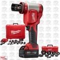 "Milwaukee 2676-23 M18 Force Logic High Capacity Knockout 1/2""~4"" Kit"
