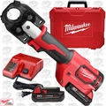 Milwaukee 2679-22 M18 FORCE LOGIC 600 MCM Crimper w/ One Key Technology O-B