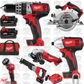 Milwaukee 2696-26 18 Volt M18 6 Piece Tool Kit + 2663-20