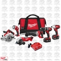 Milwaukee 2696-26 18 Volt M18 6 Piece Tool Kit OB