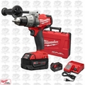 "Milwaukee 2703-22 M18 Gen 2 FUEL 1/2"" Drill/Driver Kit 5.0Ah Batt OB"