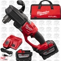 "Milwaukee 2707-22HD M18 Fuel Hawg 1/2"" Right Angle Drill 2 9.0ah Batts O-B"