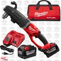 Milwaukee 2709-22HD M18 Fuel Super Hawg Right Angle Drill 2 9.0 Batts O-B