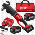 Milwaukee 2709-22HD M18 Fuel Super Hawg Right Angle Drill 3 9.0 Batts Kit