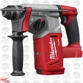 "Milwaukee 2712-20 M18 FUEL 1"" SDS Plus Rotary Hammer (Tool Only)"