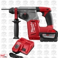 "Milwaukee 2712-20 M18 FUEL 1"" SDS Plus Rotary Hammer 9.0ah Kit"