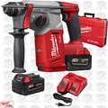 "Milwaukee 2712-22 M18 FUEL 1"" SDS Plus Rotary Hammer Kit OB"
