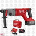 "Milwaukee 2713-22 M18 FUEL 1"" SDS Plus D-Handle Rotary Hammer Kit OB"