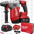 "Milwaukee 2715-22 M18 FUEL 1-1/8"" SDS Plus Rotary Hammer Kit OB"