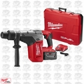 "Milwaukee 2717-21HD M18 FUEL 1-9/16"" SDS Max Hammer Drill Kit 2 9.0 Batts"