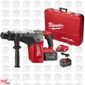 "Milwaukee 2717-22HD M18 FUEL 1-9/16"" SDS Max Hammer Drill Kt 2 9.0 Batts O-B"