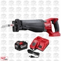 Milwaukee 2720-20P M18 FUEL SAWZALL Reciprocating Saw + 9.0Ah BATT + CHARGER