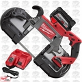 Milwaukee 2729-20 M18 Fuel 18V Cordless Deep Cut Band Saw 9.0ah Kit