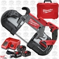 Milwaukee 2729-22HD M18 Fuel Deep Cut Band Saw HD 3 9.0ah Batteries Kit