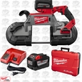 Milwaukee 2729-22HD M18 Fuel Deep Cut Band Saw High Demand 2 9.0ah Batteries