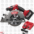 "Milwaukee 2730-20 18 Volt M18 FUEL Cordless 6-1/2"" Circular Saw 9.0ah Kit"