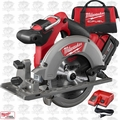 "Milwaukee 2730-21 M18 FUEL 6-1/2"" Circular Saw Kit OB"