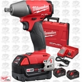 "Milwaukee 2755-22 M18 FUEL 1/2"" Compact Impact Wrench Pin Detent 3 5.0Ah"