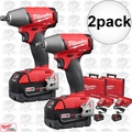 "Milwaukee 2755B-22 2pk M18 FUEL 1/2"" Impact Wrench Friction Ring Kit"