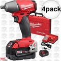 "Milwaukee 2755B-22 4pk M18 FUEL 1/2"" Impact Wrench Friction Ring Kit"