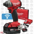 "Milwaukee 2757-22 M18 FUEL 1/4"" Hex Impact Driver with ONE-KEY Kit OB"