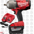 "Milwaukee 2762-20 M18 Fuel 1/2"" High Torque Impact w/ Detent Pin 9.0 Kit"