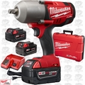 "Milwaukee 2763-22-X1 1/2"" High Torque Impact Kit ""2"" 5Ah XC and ""1"" 4Ah Batt"